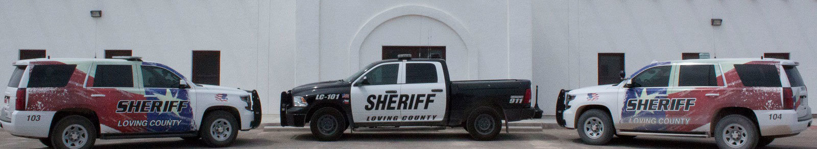 Loving County Sheriff TX Homepage Slideshow